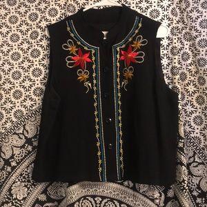 Carole little vest